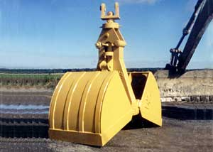 D/S Manufacturing: Clam Pattern Excavator Buckets